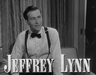 A Letter to Three Wives - Image: Jeffrey Lynn in A Letter to Three Wives trailer