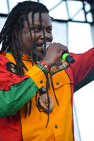 Luciano (singer) - Luciano performing at the 2016 Palm Beach Jerk and Caribbean Culture Festival. West Palm Beach, Florida.