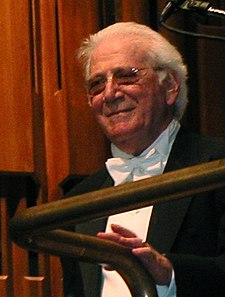 O compositor estatounitense Jerry Goldsmith, en una imachen de 2003.