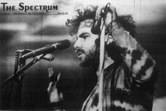 Jerry Rubin, University at Buffalo, March 10, 1970 Jerry Rubin - Spectrum 13Mar1970.jpg