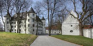 Jettingen-Scheppach - Jettingen-Scheppach, former Stauffenberg-Castle
