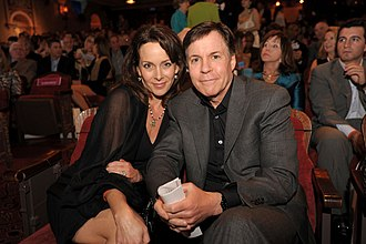 Bob Costas - Costas and Jill Sutton at the 2014 Miami International Film Festival