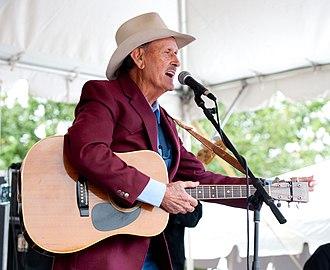Jimmy C. Newman - Jimmy C. Newman at 2009 Festivals Acadiens et Créoles
