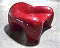 Jochen Claussen-Finks red fiberglass armchair 1971.jpg