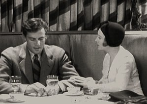 Kept Husbands - Joel McCrea and Dorothy Mackaill in a scene from the film.