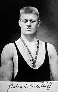 Johan Richthoff Swedish wrestler