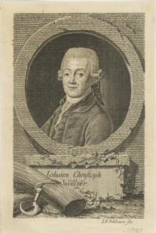 Der Staatsminister: Johann Christoph von Woellner (Quelle: Wikimedia)