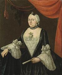 Portrait of Johanna van Rijswijk (born 1715), Wife of Jan Hendrik van Rijswijk