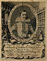 Johannes Daniel Mylius. Line engraving, 1620. Wellcome V0004207.jpg