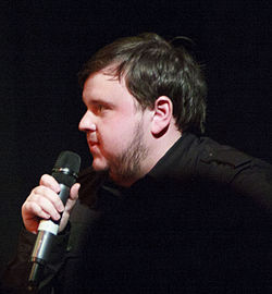 John Bradley-West at Eastercon 2012.jpg