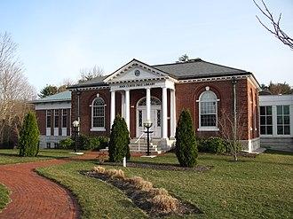 Hanover, Massachusetts - Image: John Curtis Free Library, Hanover MA