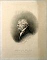 John Dalton. Engraving by J. Stephenson, 1845, after himself Wellcome V0006490.jpg