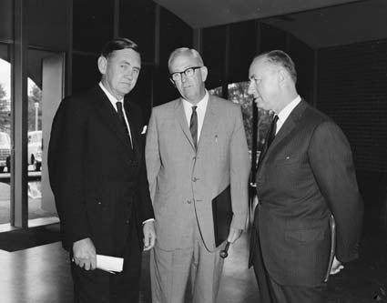 John Gorton, Fred White, René Maheu