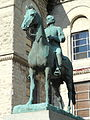 John Hunt Morgan memorial - Lexington, Kentucky - DSC09086.JPG