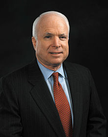 John McCain's official Senate portrait, taken in 2005