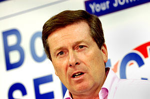 John Tory - Tory in Guelph, September 24, 2007.
