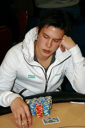 Johnny Lodden - Lodden at the EPT Dublin event in 2007