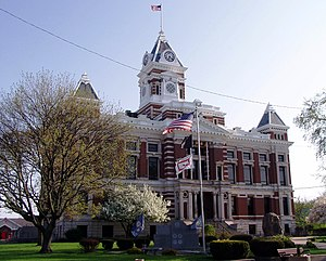 Johnson County, Indiana - Image: Johnson Indiana courthouse