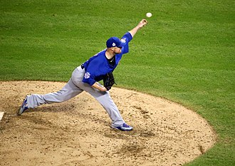 Jon Lester - Lester pitching in 2016 World Series