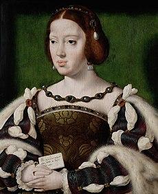 Královna eleonora kolem roku 1530
