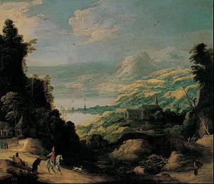 Joos de Momper - Mountain landscape