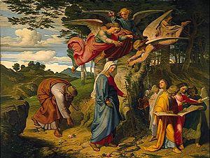 Joseph von Führich - Image: Josef von Führich, Mariens Gang
