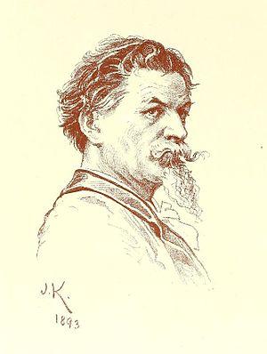 Joseph Keppler - Self portrait by Keppler