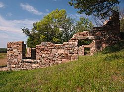 Joseph R. Brown House Ruins.jpg