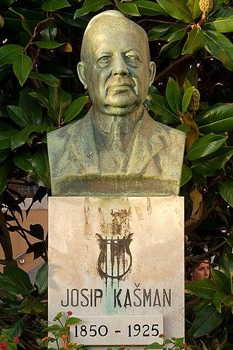 Josip Kašman - Bust of Josip Kašman