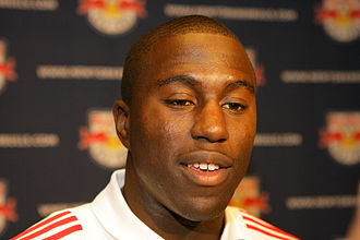 Jozy Altidore - Altidore in a press conference with the Red Bulls in March 2008