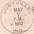 Judyville postmark.png