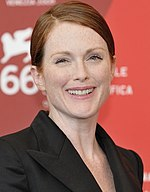 Photo of Julianne Moore at the at the 2009 Venice International Film Festival.