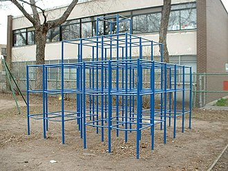 Jungle gym - A traditional jungle gym