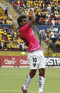 Junior Sornoza Ecuadorian footballer