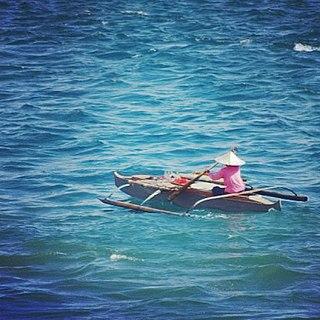 Junkun Indigenous Philippines canoe