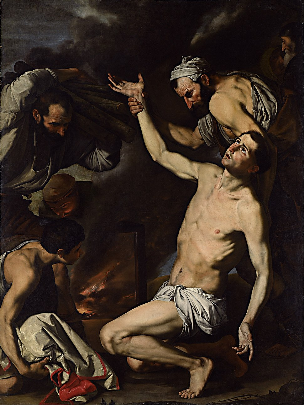Jusepe de Ribera - Martyrdom of St Lawrence - Google Art Project