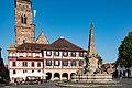 Königsplatz, Rathaus, Brunnen Schwabach 20190626 001.jpg