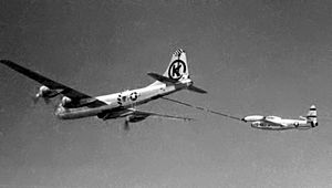 KB-29 refueling F-84E over Korea c1952.jpg