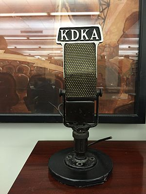 KDKA (AM) - KDKA microphone