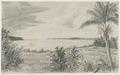 KITLV - 36C198 - Borret, Arnoldus - Mouth of Coppename River, Surinam - Pencil - Circa 1880.tif