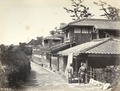 KITLV - 83037 - Houses at Tennoji in Japan - before 1880.tif
