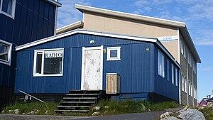 Kalaallit Nunaata Radioa - Former KNR station in Ilulissat
