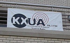 KXUA - Image: KXUA banner