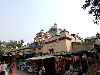 Kalighat Kali Temple - View of the Kalighat Temple