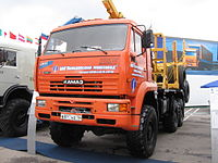 Kamaz lesovoz mims moscow.JPG