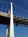 Kanmonkyo Bridge from Shimonoseki, Yamaguchi 20131124.jpg