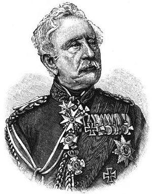 Karl Friedrich von Steinmetz - Image: Karl Friedrich von Steinmetz, 1895 illustration