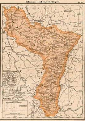 Lothringen Karte.Wikizero Reichsland Elsass Lothringen