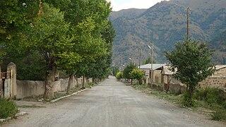 Place in Azerbaijan - de jure Nagorno-Karabakh Republic - de facto