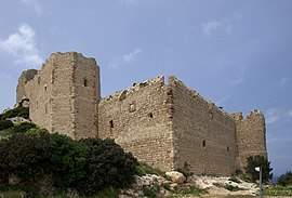 The ruins of Kastellos castle